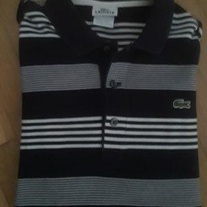 Lacoste Polo Men's Medium Short Sleeve Shirt